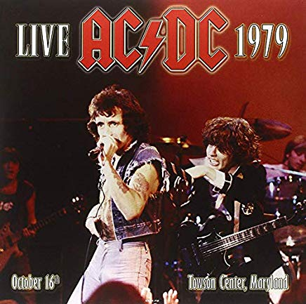 LIVE 1979 TOWSON CENTER MARYLAND